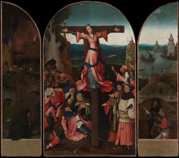 BoschTheCrucifixionOfStJulia